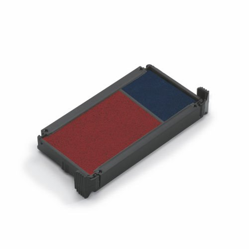 Stamp Pads & Ink Trodat Replacement Ink Pads 6/4912/2 Red/Blue PK2