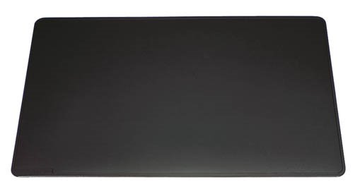 Durable Desk Mat With Contoured Edges 52 x 65cm Black