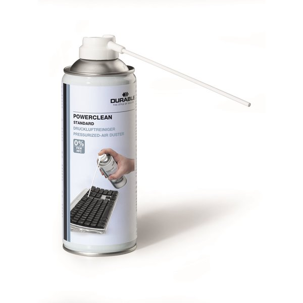 Multipurpose Durable Powerclean Standard Air Duster 400ml 579619