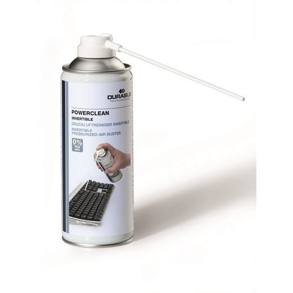 Multipurpose Durable Powerclean Airduster Flammable Inverted 200ml 579719