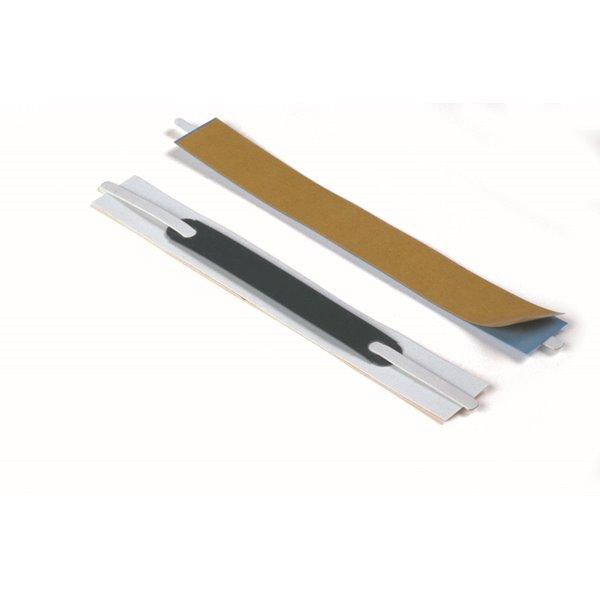 Self Adhesive Filing Strips Flexifix Filing Fastener Self Adh 80mm Wht 690602 (PK100)