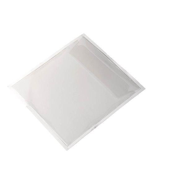 Self Adhesive Filing Strips PocketFix CD/DVD Pocket Self Adhesive Clear 828019 (PK100)