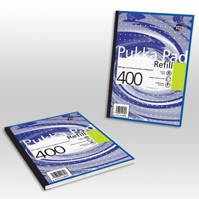 Refill Pads Pukka Pad A4 Refill Pad 400 Pages PK5