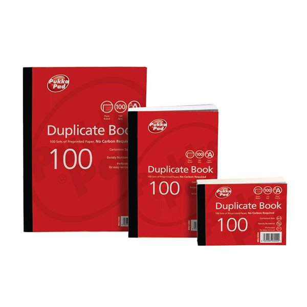 Duplicate Value Duplicate Book Plain Ruled 216x130mm PK5