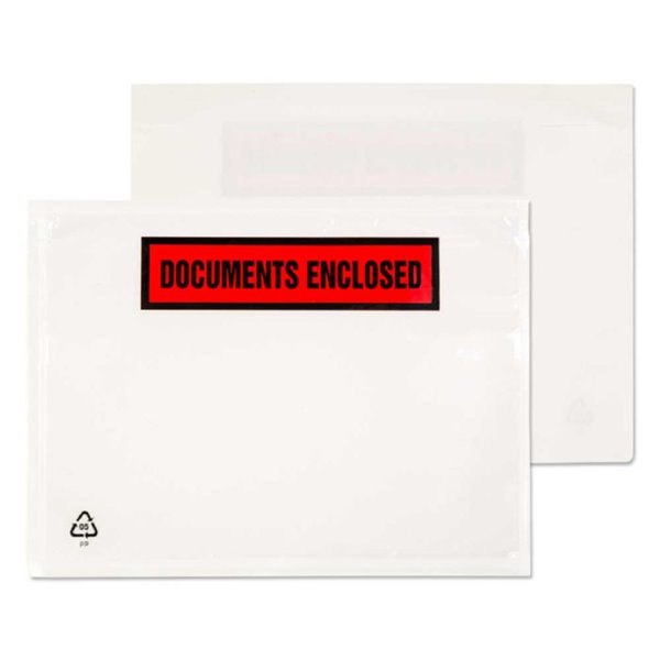 Documents Enclosed Blake A6 168X126Mm Printeddocument Enclosed Wallet Pk1000