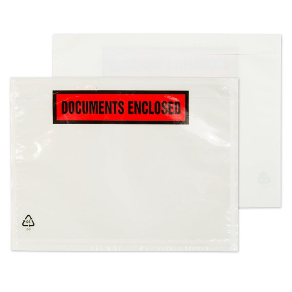 Document Enclosed Wallets Blake Dl 235X132Mm Printeddocument Enclosed Wallet Pk1000