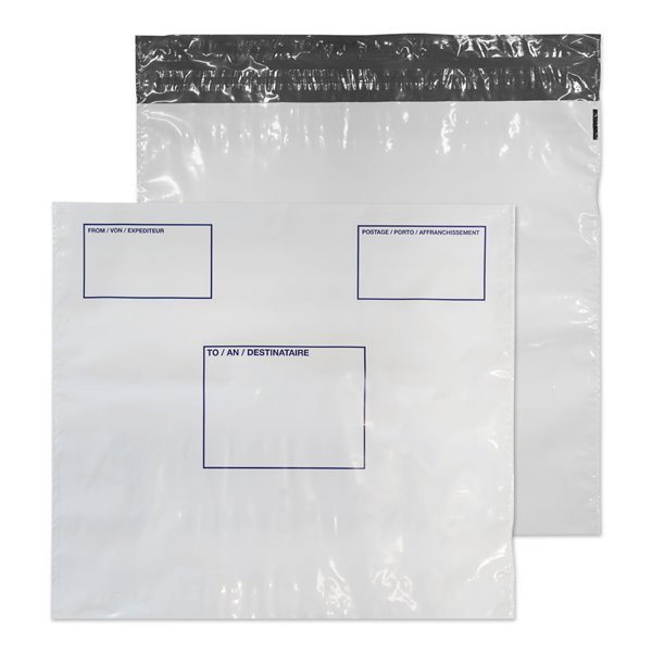 Blake Poly Mailer With Address Panel 430x460 P&S PK100