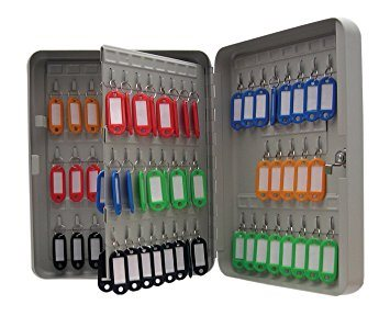 Key Cabinets Value Key Cabinet Steel GY Lock and Wall Fixings 160 Keys