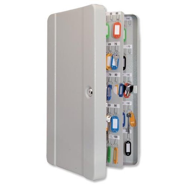 Key Cabinets Value Key Cabinet Steel GY Lock and Wall Fixings 200 Keys