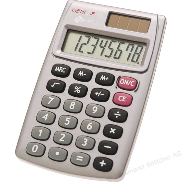 Value Genie 510 8-digit pocket calculator 10274
