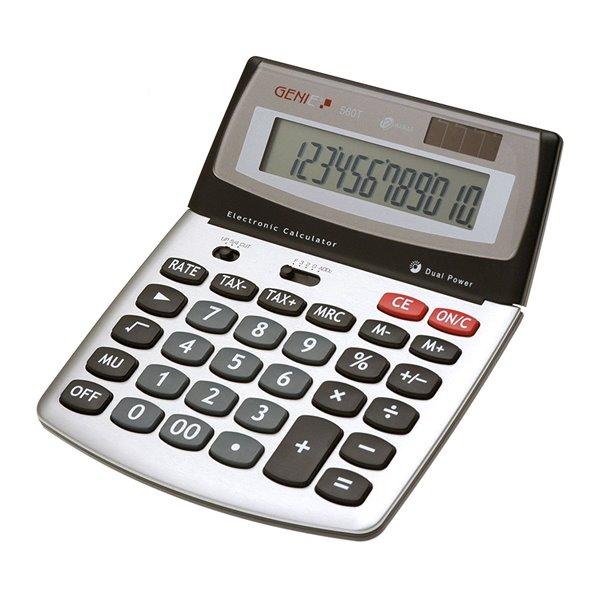 Desktop Calculator Value Genie 560T 12-digit desktop calculator 10270