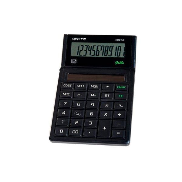 Value Genie 305 ECO Business calculator 100% solar 11763