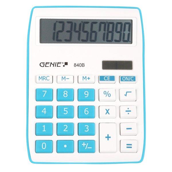 Genie 840B Blue Calculator