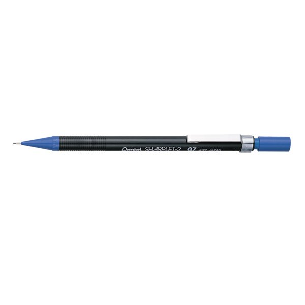 Pentel Sharplet-2 Automatic Pencil 0.7mm Blue PK12