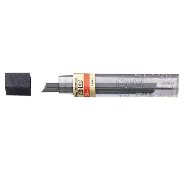 Refill Leads Pentel 2B Refill Leads 0.5mm C50.5-2B PK12