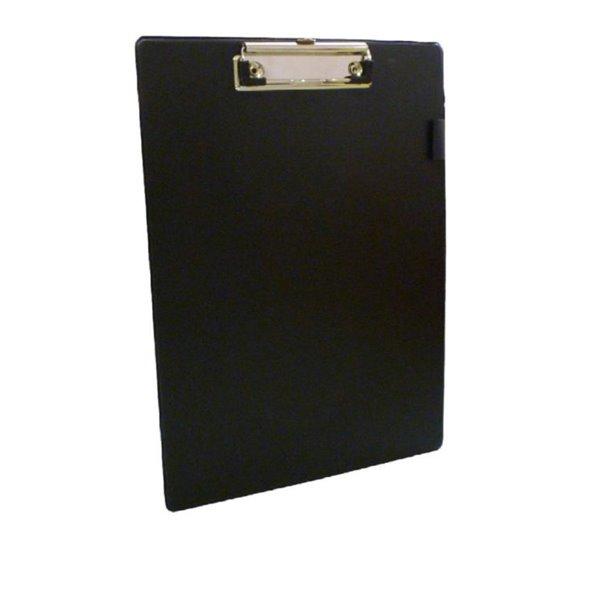 Clipboards Value PVC A4 Clipboard Black