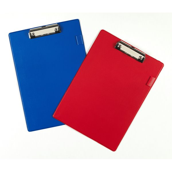 Clipboards Value PVC A4 Clipboard Red