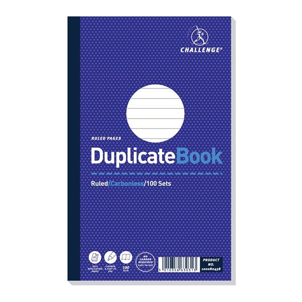 Challenge 210x130mm Duplicate Book PK5