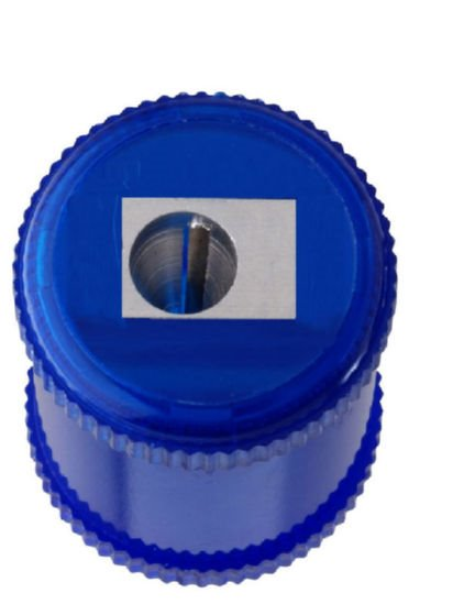 Value Ikon 1 Hole Barrel Sharpener Blue (PK10)