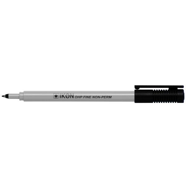 Non-Permanent Markers Value Ohp Non-Permanent Fine BK PK10