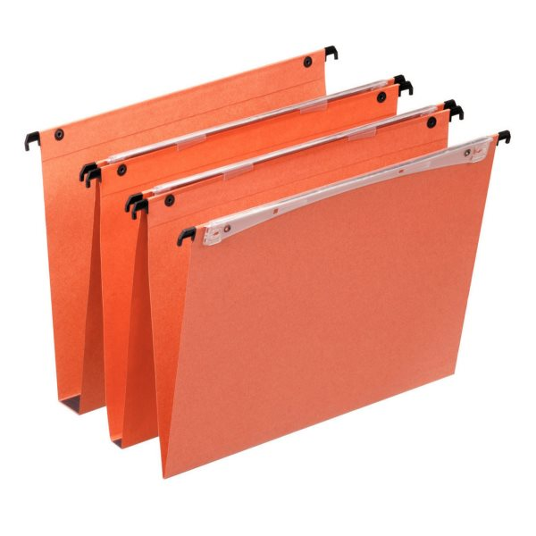 Lateral Files Esselte Orgarex Vertical File 30mm Base A4 Orge 21633 (PK25)