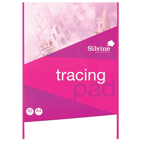 Refill Pads Silvine A4 Tracing Pad PK6