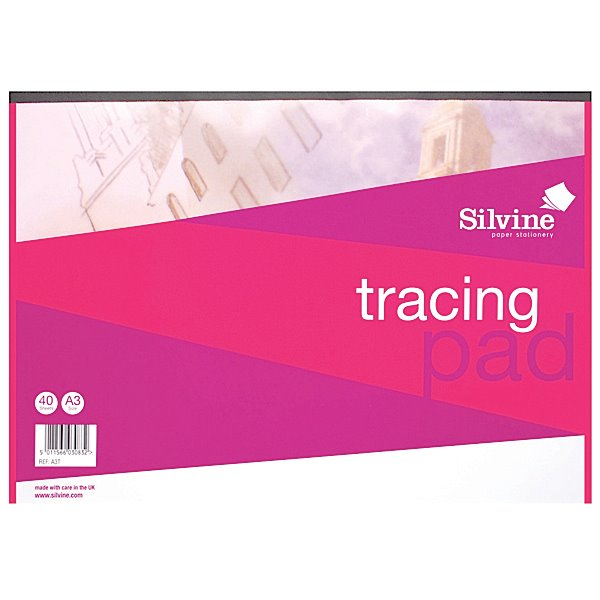 Refill Pads Silvine A3 Tracing Pad PK5