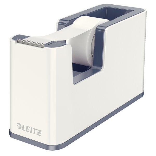 Leitz WOW Duo Colour Tape Dispenser White 53641001 (PK1)