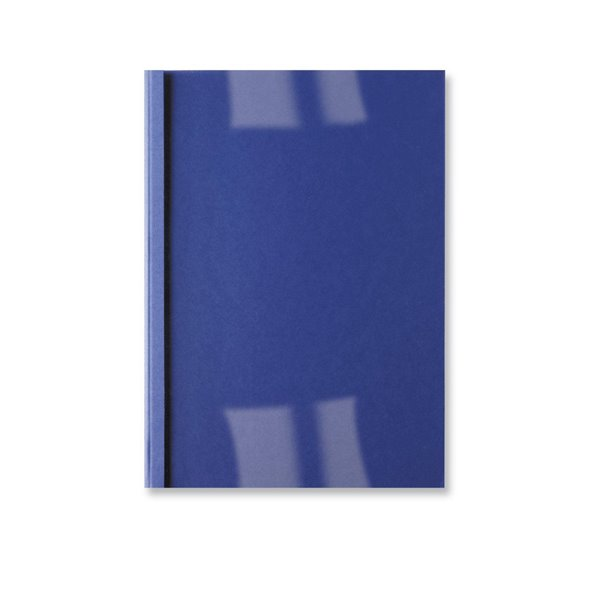 GBC A4 Thermal Binding Covers 1.5mm Leather Royal Blue PK100