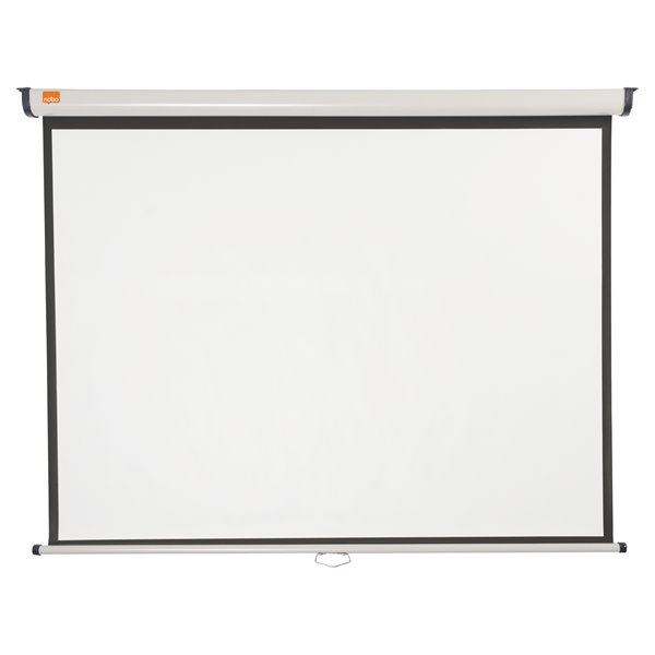 Screens Nobo Wall Mounted 4:3 Projection Screen 1500x1138mm
