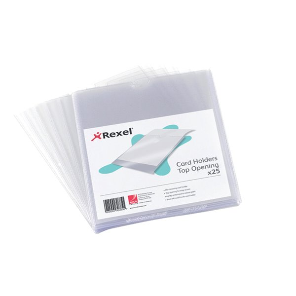 Card Holders Rexel Nyrex Card Holder 152x102mm 12030 (PK25)