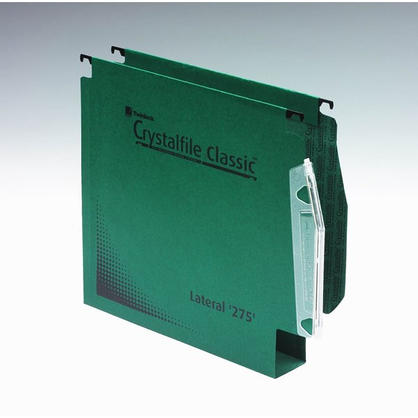 Lateral Files Twinlock Crystalfile Lateral File 50mm Extra Green BX50