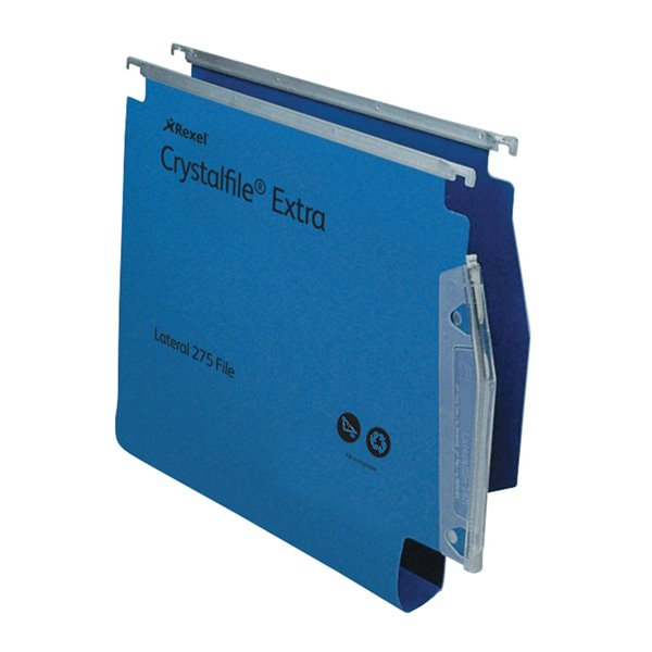 Lateral Files Twinlock Crystalfile Extra Lateral File PP 30mm Blue BX25
