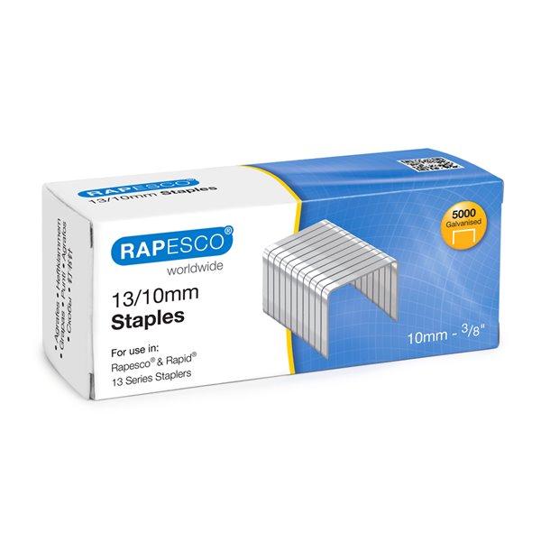 Staples Rapesco 13/10mm Galvanised Staples PK5000