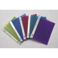 Rapesco 15mm 2-Ring Bright Transparent Ring Binder A4 PK10