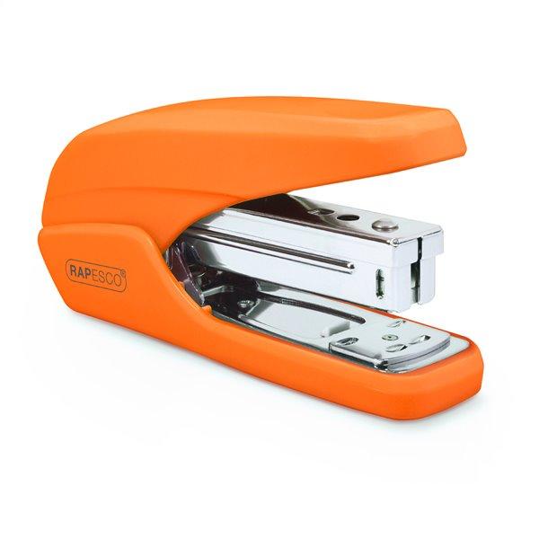 Long Arm Staplers Rapesco X5-25ps Less Effort Stapler Orange