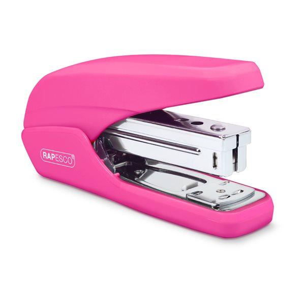 Desktop Staplers Rapesco X5-25ps Less Effort Stapler Hot Pink