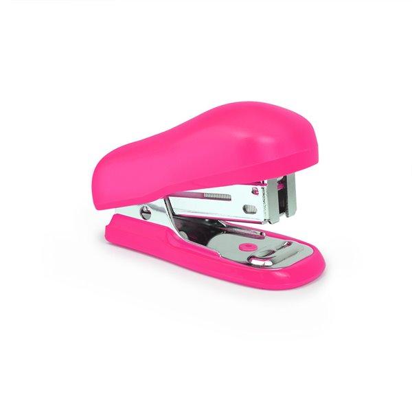 Hole Punches Rapesco Bug Mini Stapler Hot Pink