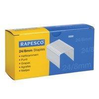 Staples Rapesco Staples 8mm 24/8 Pk5000