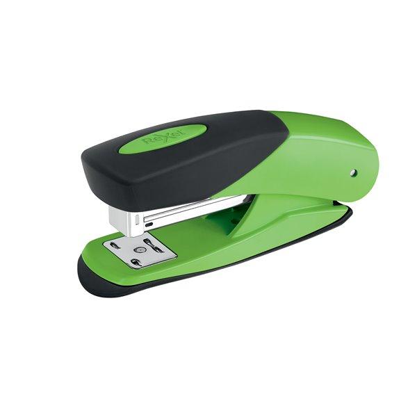 Desktop Staplers Rexel Choices Matador Half Strip Stapler Green