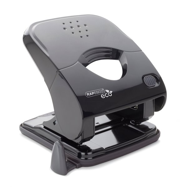 Hole Punches Rapesco ECO X5-40ps Less Effort 2 Hole Punch black
