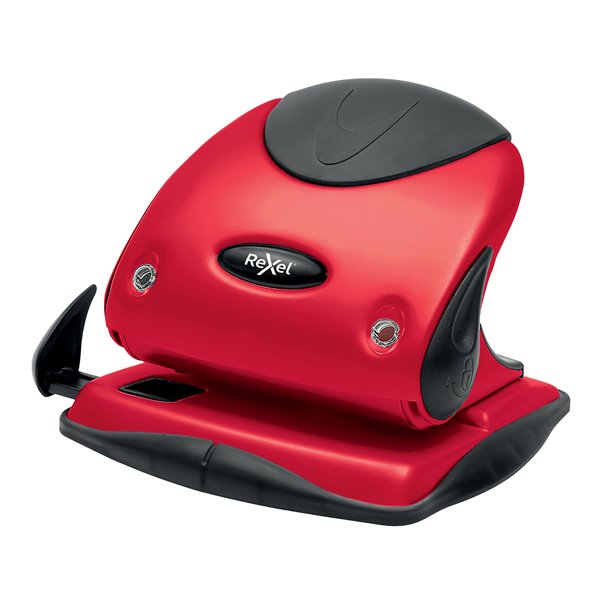 Hole Punches Rexel Choices P225 2 Hole Punch Red