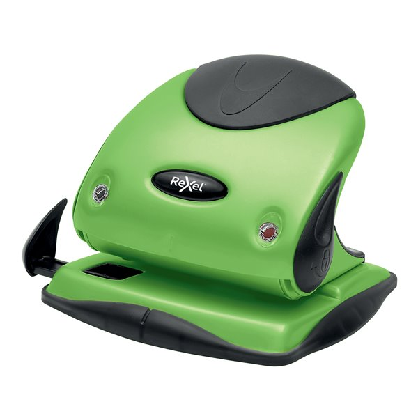 Hole Punches Rexel Choices P225 2 Hole Punch Green