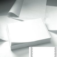 Value Listing Paper 11x241 3 Part NCR Plain Perforated BX700