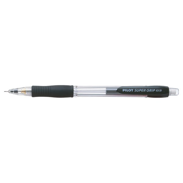 Pilot  Super Grip Pencil Black PK12