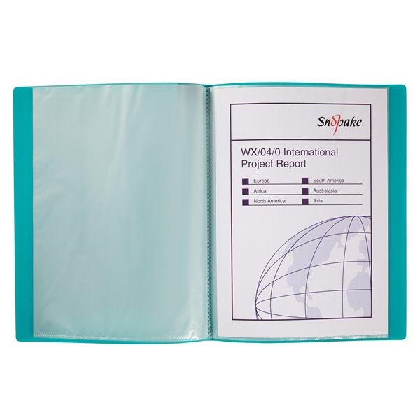 Display Books Snopake Display Book 10 Pockets A4 Electra Astd PK10