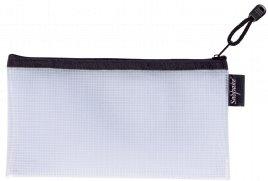 Snopake EVA Mesh Zippa Bag DL Black Pack 3