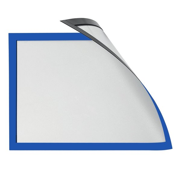 Literature Holders Magiboards Solo Magnetic Paper Holders A3 Blue PK6