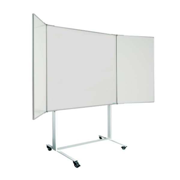 Magnetic Magiboards Mobile Magnetic Wingboard 120X120cm