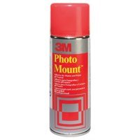 Spray Adhesive 3M Photo Mount Adhesive Spray CFC Free 400ml
